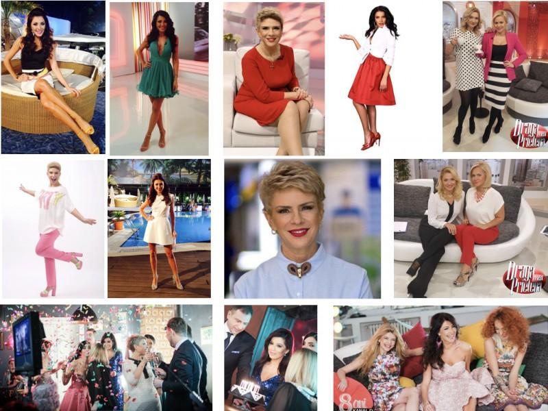 TV stars - Ilinca Vandici, Teo Trandafir, Adelina Pestritu, Cristina Cioran, Paula Chirila, Simona Patruleasa