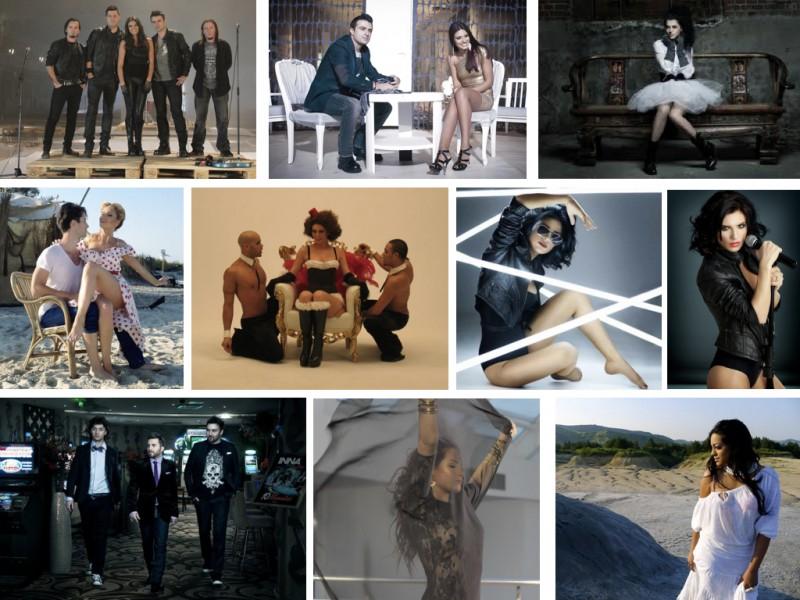 Antonia, Andreea Banica, Claudia Pavel, Ellie White, Inna, Play&Win, Raluka, Tasha, Vunk