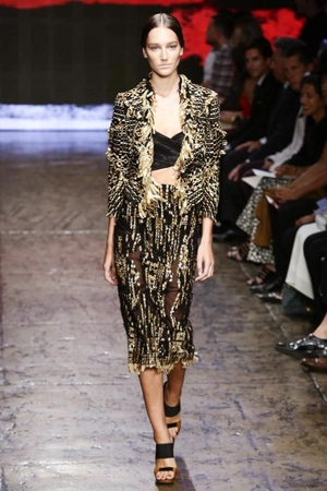 Donna Karan New York to Wear Spring Summer 2015 in New York