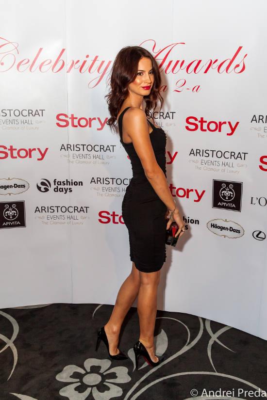 Geanina Ilies_Story Celebrity Awards 2013