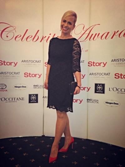 Paula Chirila @ Story Celebrity Awards 2014